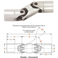 Double Universal Joints - UJ - Apex