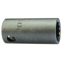 """3/8"""" Drive - Metric - 6 Point & Double Hex, Thin Wall, Standard Length - Apex"""